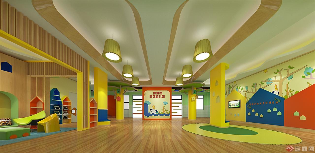 邹城市体艺幼儿园方案设计-诗语园林景观设计