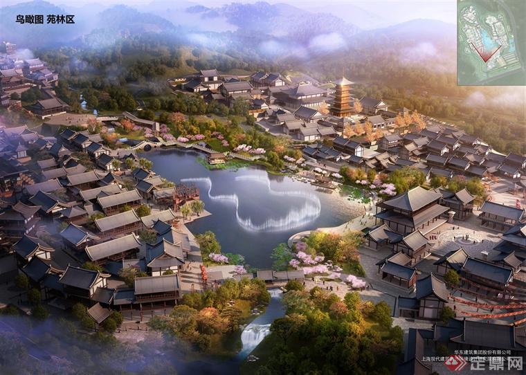 上影安吉·新奇世界外景地项目总体规划设计