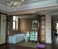浴室,浴室空间,卫生间,玻璃墙