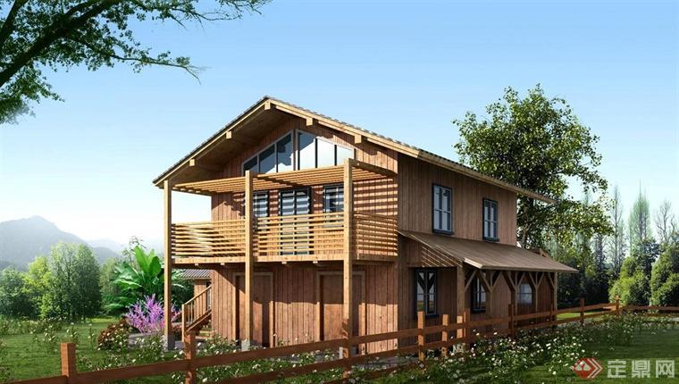 乡村小木屋设计