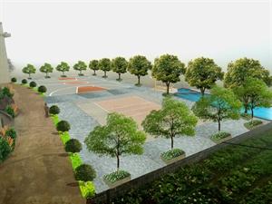 苏州中式庭院景观 -园林景观设计作品集图片