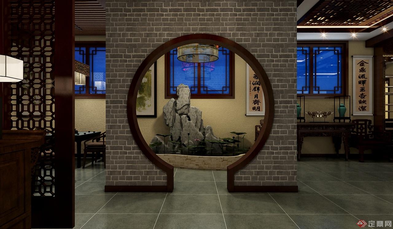 茶室室内设计方案-浩瀚空间设计工作室
