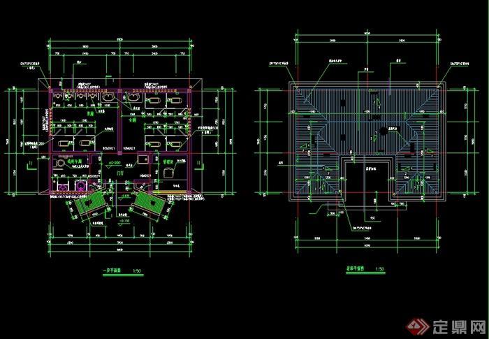 某现代中式风格砖混结构公厕建筑设计cad施工图,厕所长8米 宽5.9米 1层砖混结构公厕,包含了一层平面 、屋顶平面 、四个轴立面、 二个剖面、 花格窗立面详图、 一些详图,可直接下载拥用于相关设计使用,欢迎下载。