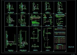 某现代风格建筑卫生器具及管道安装cad施工图