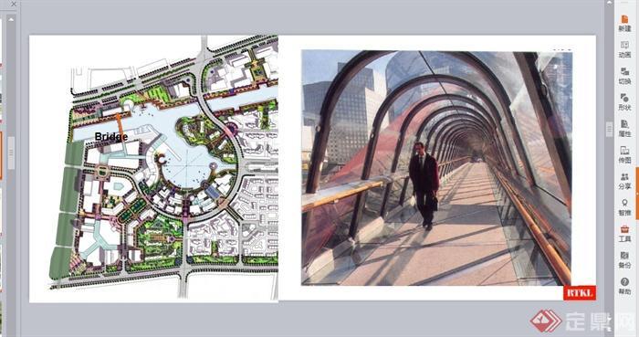 某综合配套区景观规划设计PPT文档