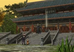 中国古建筑大合集SU(草图大师)模型含JPG图片文件