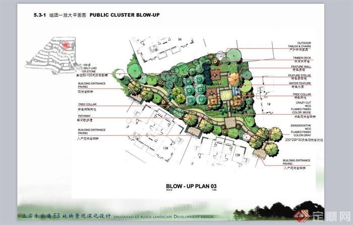 风格住宅区游园景观规划设计PPT方案