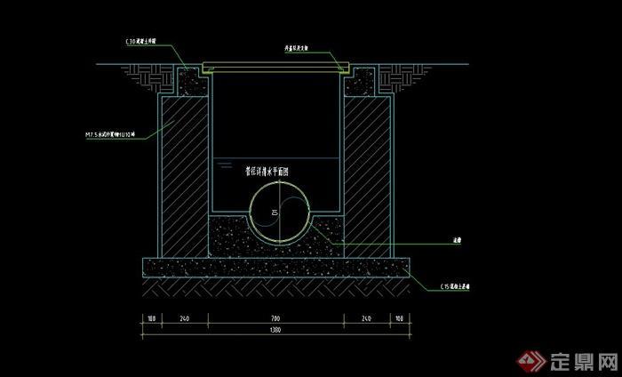 公园规划设计打蓝图版CAD施工图设计