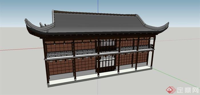 中国古建筑大合集SU模型含JPG图片文件(4)