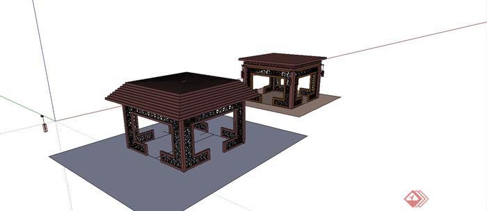 中国古建筑大合集SU模型含JPG图片文件(11)