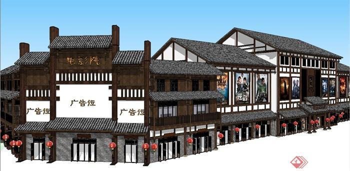 中国古建筑大合集SU模型含JPG图片文件(13)