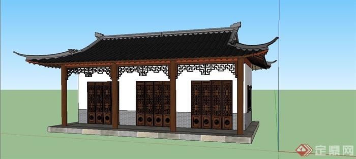 中国古建筑大合集SU模型含JPG图片文件(15)