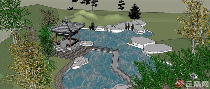 中国古建筑大合集SU模型含JPG图片文件(17)
