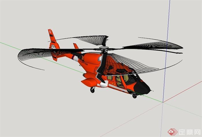 直升机设计su模型(2)
