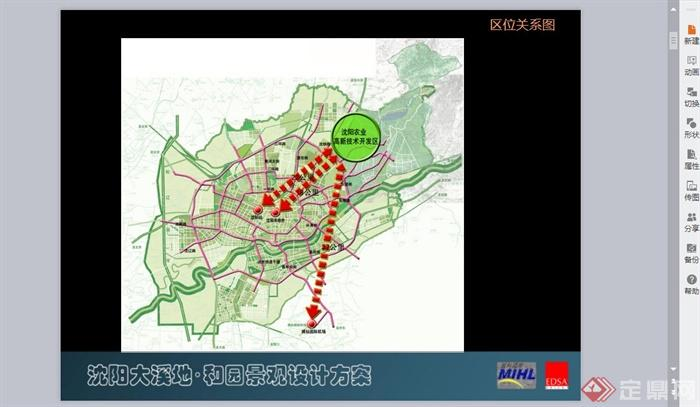 沈阳某溪地公园景观规划设计PPT方案