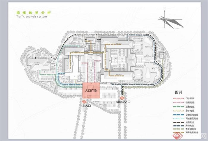 某现代中式风格精神病院建筑设计ppt方案全套[原创]室内设计简单么图片