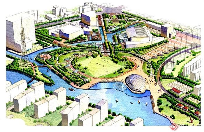 某市民文化廣場景觀規劃設計方案(65頁)[原創]