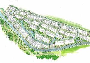 日本某住宅小区景观设计文本(28页)图片