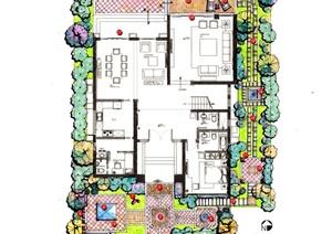 别墅庭院景观方案