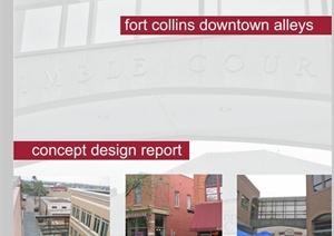 美国某街道景观改造设计PDF方案