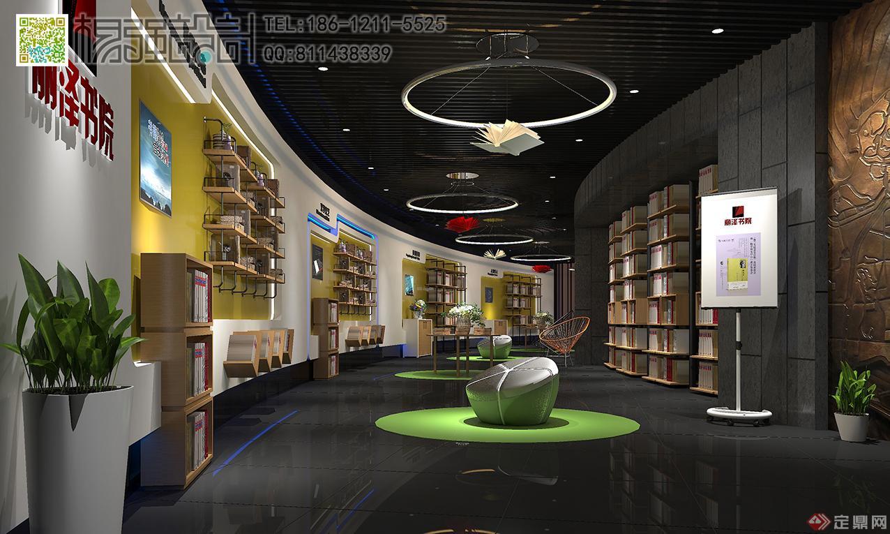 书店展厅设计—杨强设计