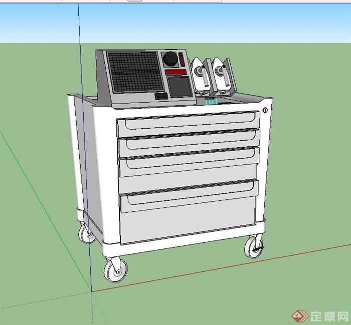 醫院醫療器械SU模型(2)