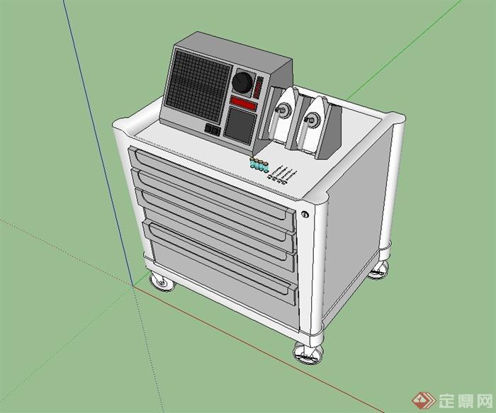 醫院醫療器械SU模型(1)