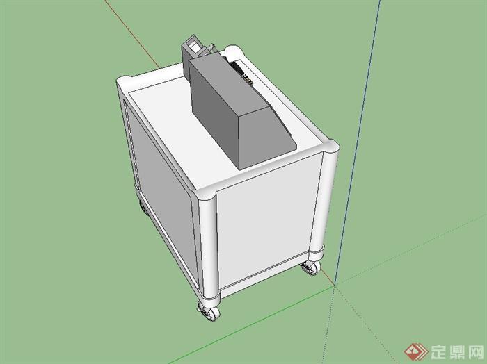醫院醫療器械SU模型(3)