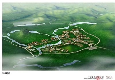 三亚大学整体规划景观设计jpg方案