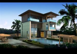 266㎡ 别墅住宅建筑规划设计方案