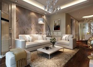 西安龙发装饰-骊山花城||别墅设计||简欧风格——低调中的奢华