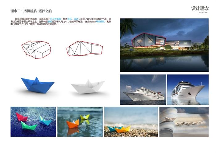 sketchup活动中心博物cad文本su效果图大学生活动中心社区青年宫(11)