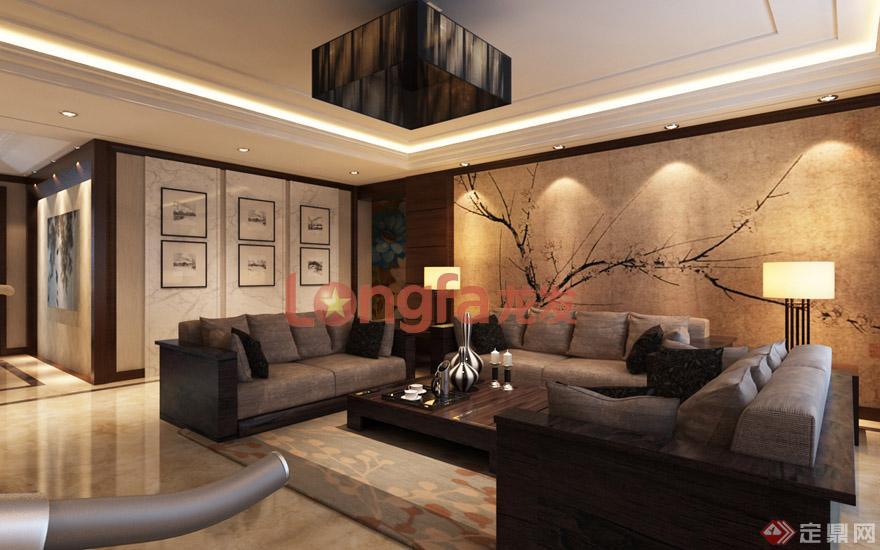 客厅沙发背景墙 装修效果图
