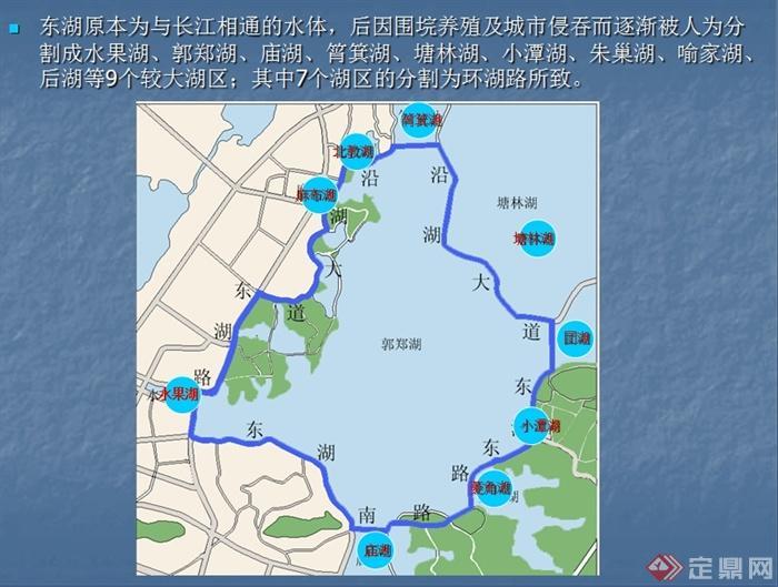 某现代风格东湖风景名胜去景观规划设计ppt文本