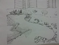 木棧道,木棧道橋,木棧道景觀,手繪木棧道