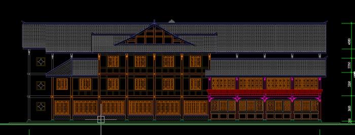 某中式合院商场建筑设计方案[原创]
