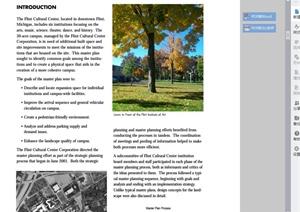 某现代风格文化中心总体规划设计PDF方案