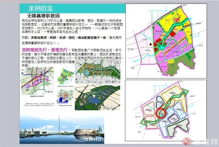 业教育科技园区景观规划设计PPT方案