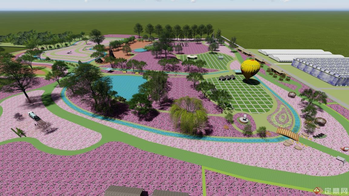某农业生态园景观规划设计                   优秀
