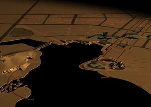 景观场景设计合集3DMAX含场景贴图