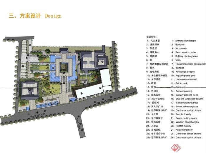 某现代风格天一阁广场入口景观设计ppt方案[原创]图片