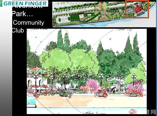 某住宅小区绿化景观环境设计ppt方案