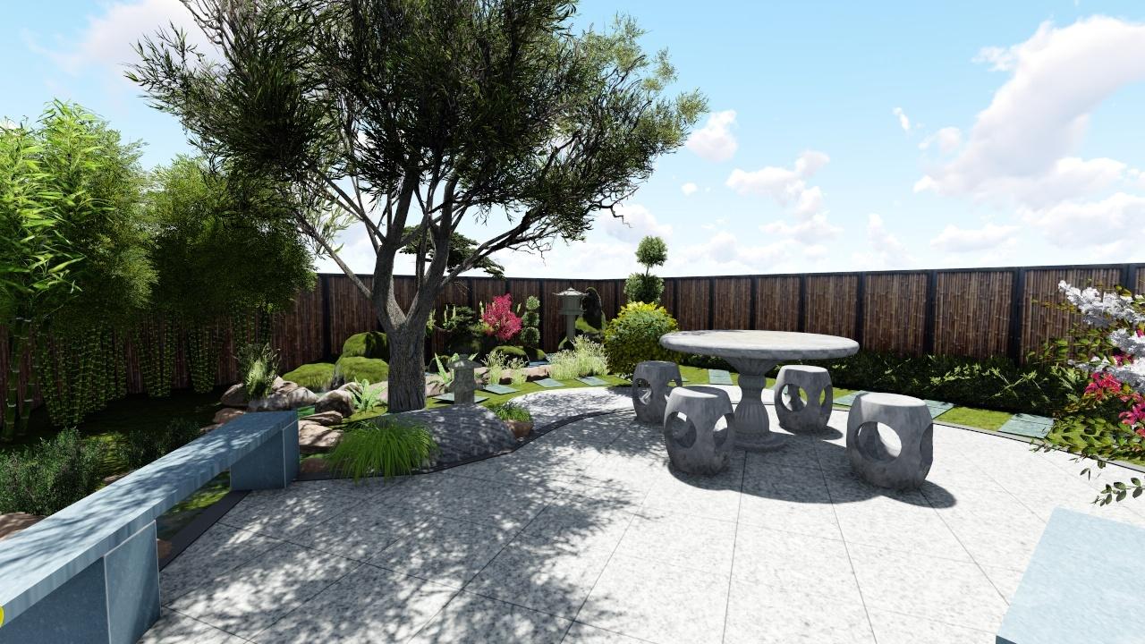 某古风庭院景观设计