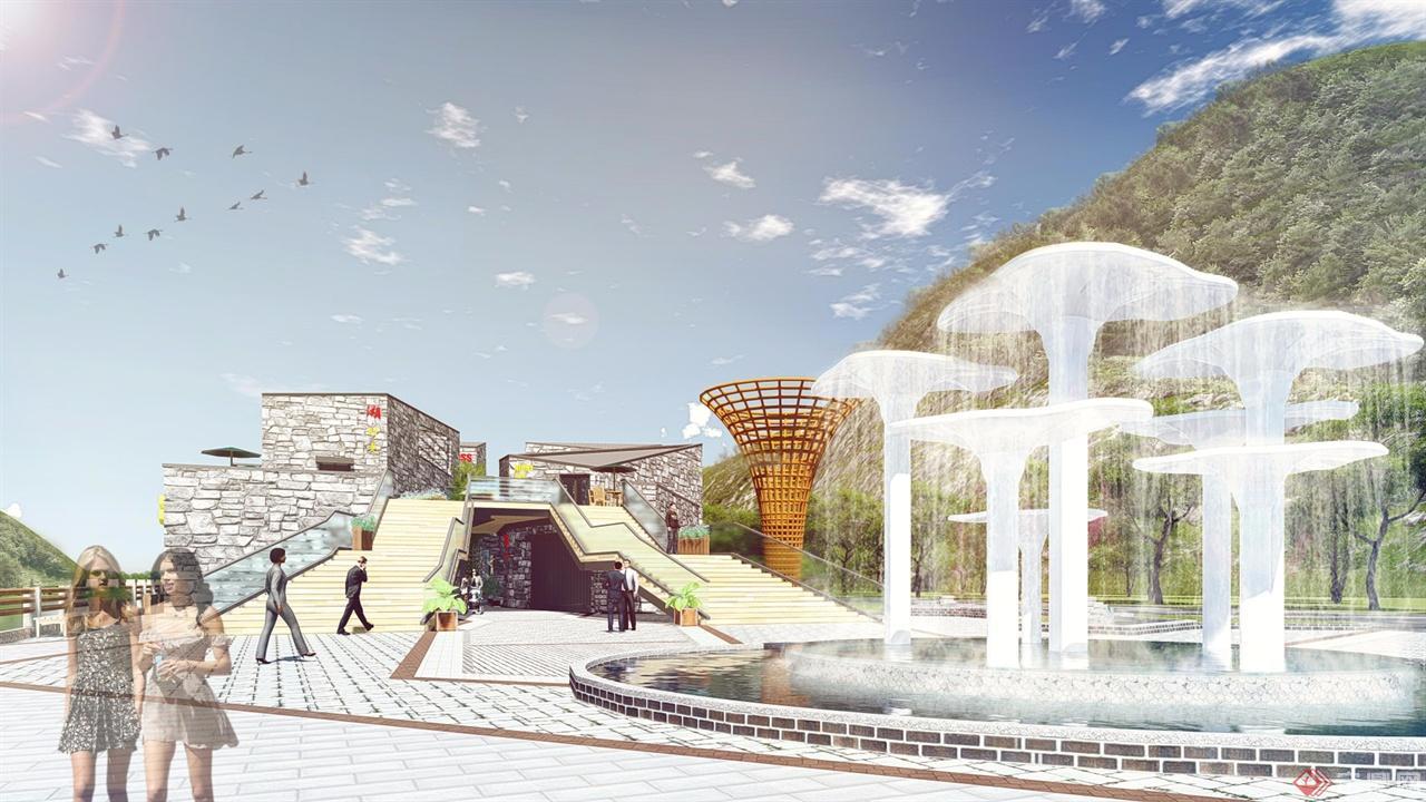 河南重渡溝酒吧一條街規劃方案設計