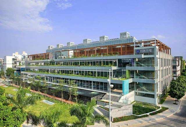 某现代风格多层三洋厂房建筑设计pdf方案