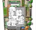 别墅庭院,庭院,庭院景观,庭院花园