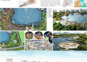 毕业设计——休闲公园景观设计展板(jpg、psd)