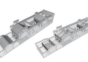 学生作业——民居故居建筑设计方案
