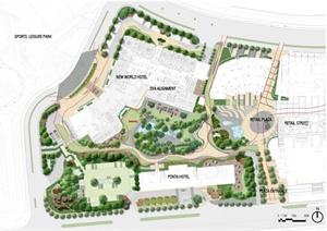 现代风格酒店景观设计pdf方案