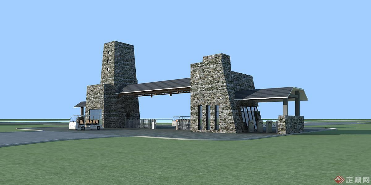 景区大门-vz设计
